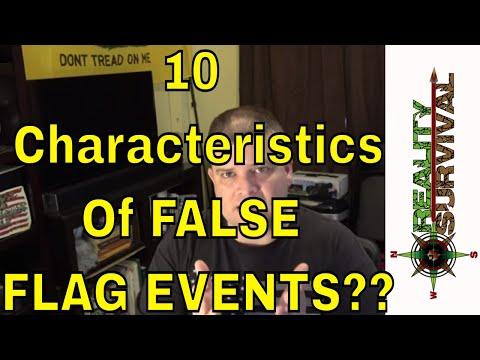 10 Characteristics Of False Flag Events?