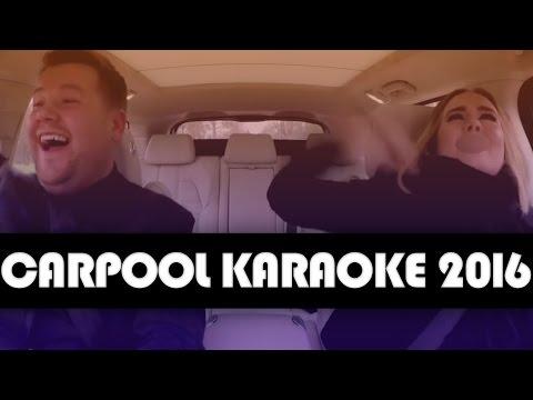 11 BEST Carpool Karaoke Moments of 2016