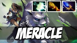 Meracle Plays Mirana WITH MJOLLNIR AND OTHERS - Dota 2