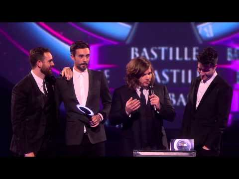 Bastille win British Breakthrough Act | BRITs Acceptance Speeches