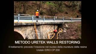 L'intervento di Uretek al Ponte di Radicondoli (Siena)
