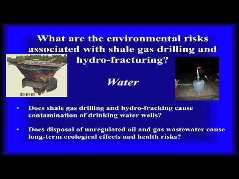 Environmental Risks of Shale Gas Development and Hydraulic Fracturing, with Avner Vengosh