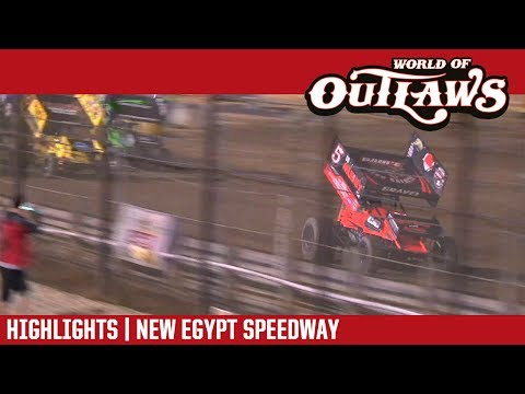 World of Outlaws Craftsman Sprint Cars New Egypt Speedway May 24, 2017 | HIGHLIGHTS