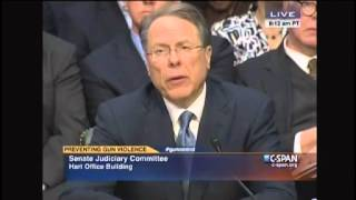 Wayne LaPierre On Whether NRA Supports Universal Background Checks At Gun Shows: 'We Do Not'