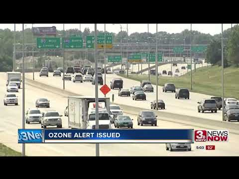 Ozone alert issued for Omaha-metro area