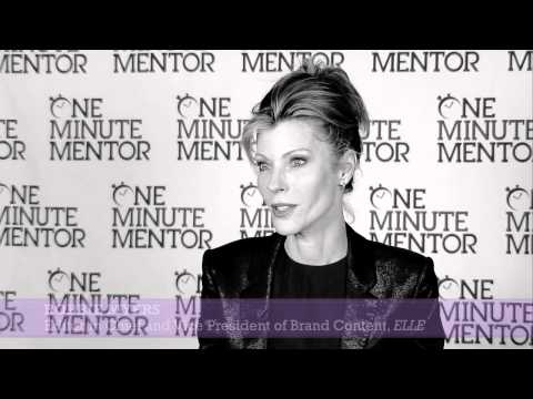 Hearst One Minute Mentor: Robbie Myers on Innovation