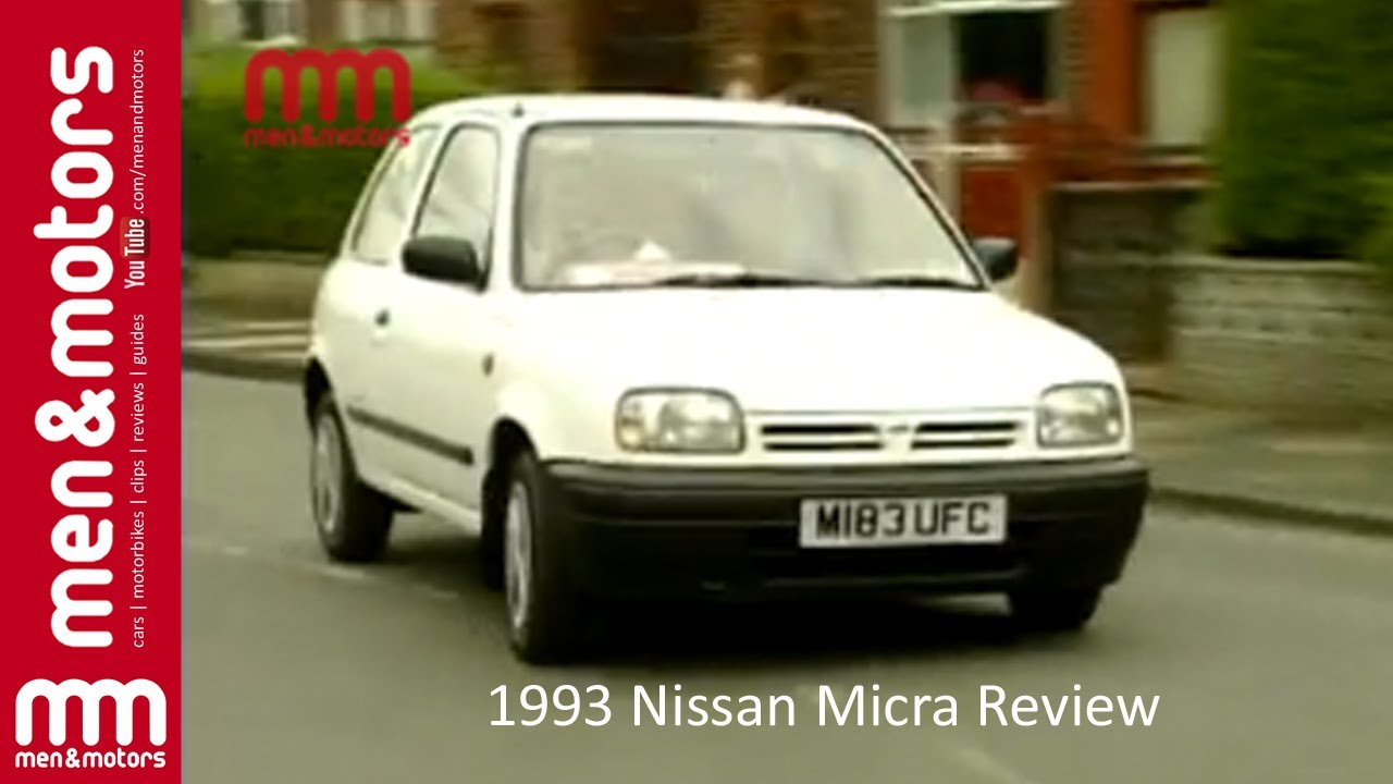 1993 Nissan Micra Review Youtube