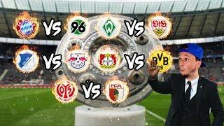 Bundesliga LIVE Konferenz - 14. Spieltag - Bayern, Dortmund, RB Leipzig