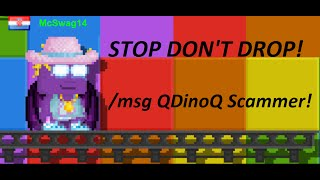 Growtopia | Scam Report -QDinoQ-