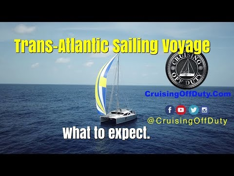 Sailing a 50' Catamaran across the Atlantic and What I Learned.  I'm a guest speaker at NSC. Ep117.