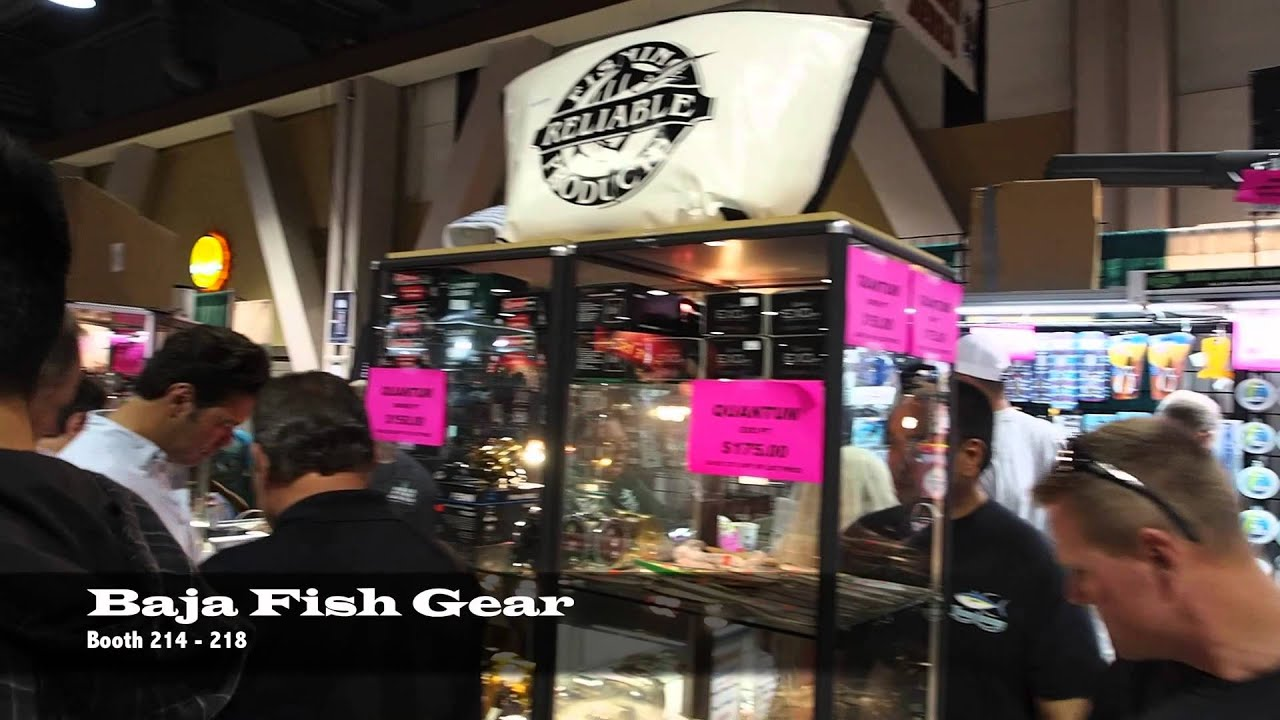 baja fish gear at the fred hall show in long beach ca