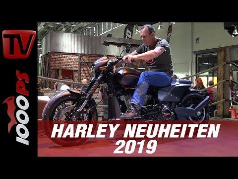 Harley Neuheiten Überblick 2019 und Ausblick in die Zukunft!