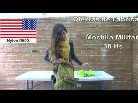 Importadora.info:  mochila militar 30 lts importada repelente agua