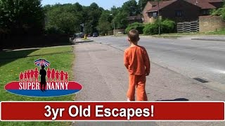 3yr Old Runs Out Of The House While Mum's On The Phone | Supernanny