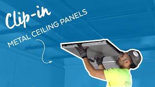 Easy Clip-in Metal Ceiling Panels