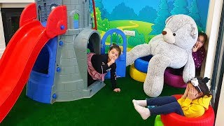 Masal Öykü and Friends Hide and Seek! The Floor is Lava - Funny Kids Video