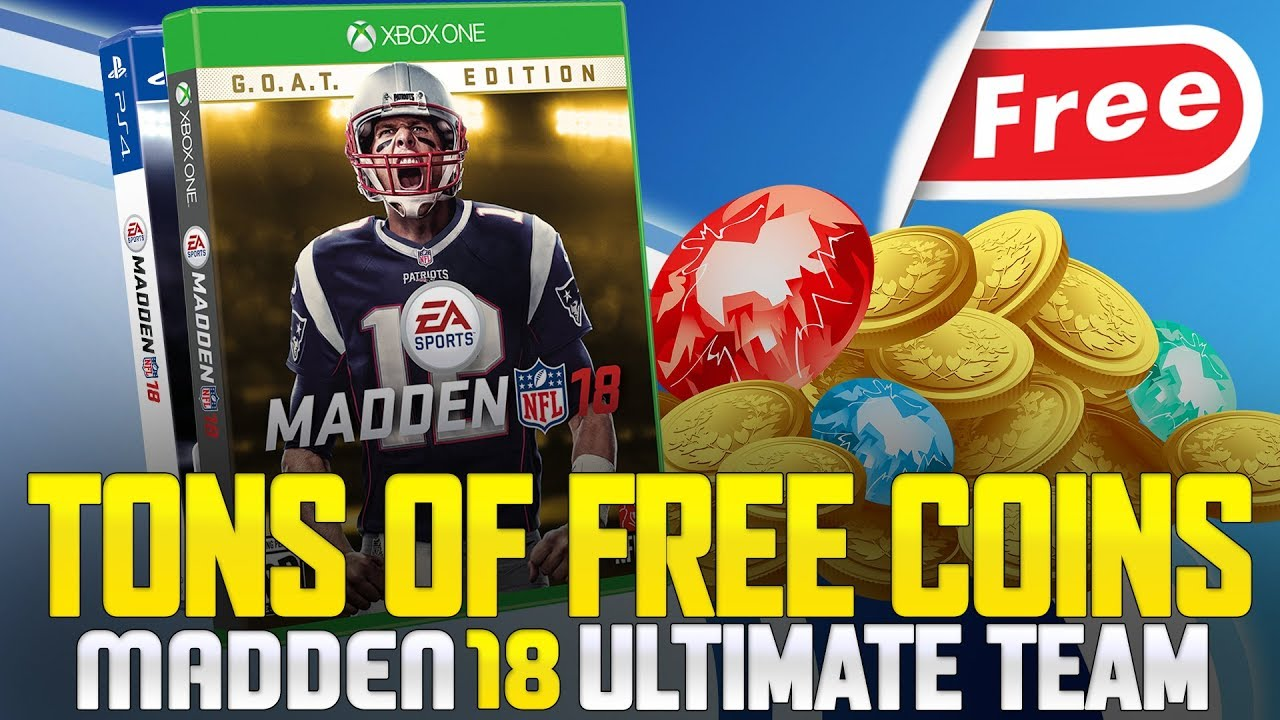 madden 18 coins xbox one