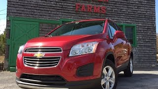 2015 Chevrolet Trax - TestDriveNow.com Review by Auto Critic Steve Hammes
