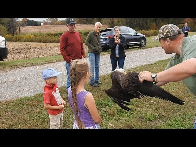 Two Bald Eagle Rescues in Two Days for Recently Retired Maryland Natural Resources Police Officer