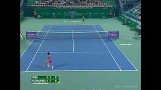 Guangzhou SF: Su-wei Hsieh vs Urszula Radwańska highlights