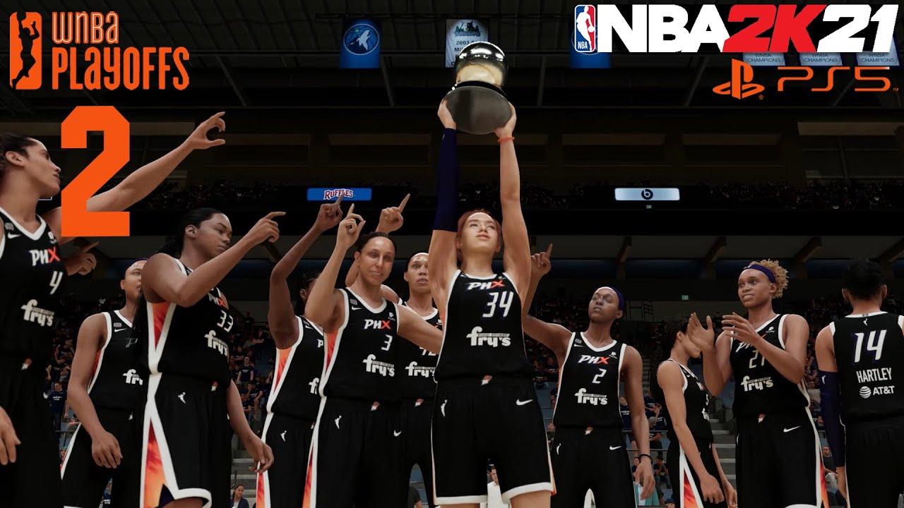 น้องขอไปก่อนนะคะ - WNBA Playoffs - NBA2K21 PS5