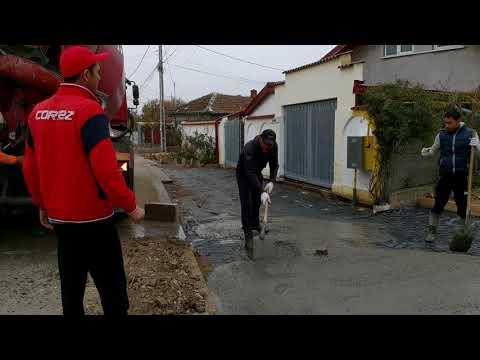 Lucrari preluare ape pluviale si acces gospodarii. Caldararu, Cernica. (3/3)