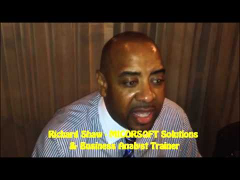 Richard Shaw, @Microsoft Solutions & Business Analyst Trainer -- Why YOU should attend #DigitalJam3