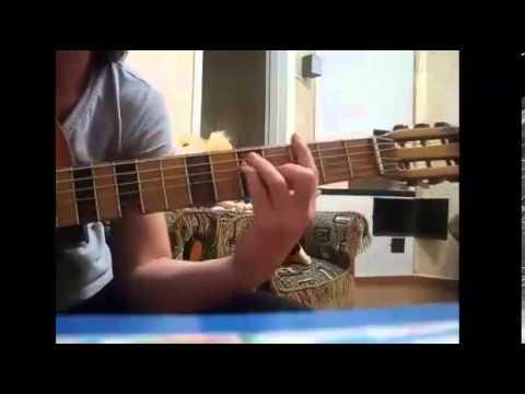 Играют на гитаре заочные ученики Виктории Юдиной