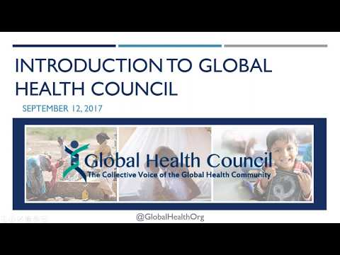 Webinar: Global Health Council, CORE Group, CUGH  Global Health Activities