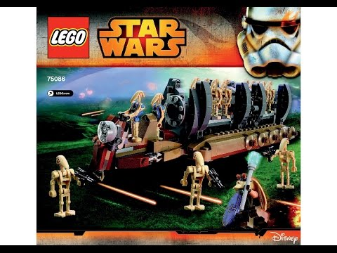 LEGO 75086 Battle Droid Troop Carrier Instructions LEGO STAR WARS 2015