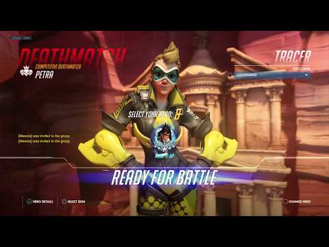 NEW TRACER SKIN AND COMPETITIVE FREE-FOR-ALL GAMEPLAY