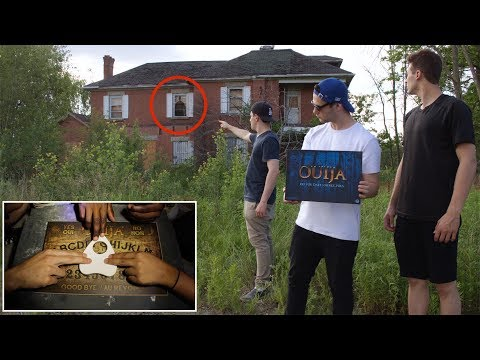 OUIJA BOARD IN A DEMON HAUNTED HOUSE! (HOLY SH*T)