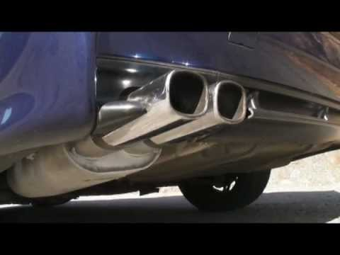 BMW E36 318is Coupe (M42) Sebring Muffler Exhaust Sound
