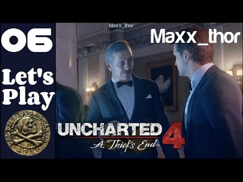 """06 - Let's Play - Uncharted 4: A Thief's End - """"The Auction"""" - walkthrough FULL GAME"""