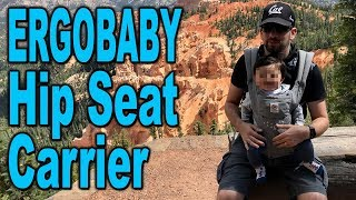 Ergobaby Hip Seat Carrier - Unboxing & Review - Clueless Dad