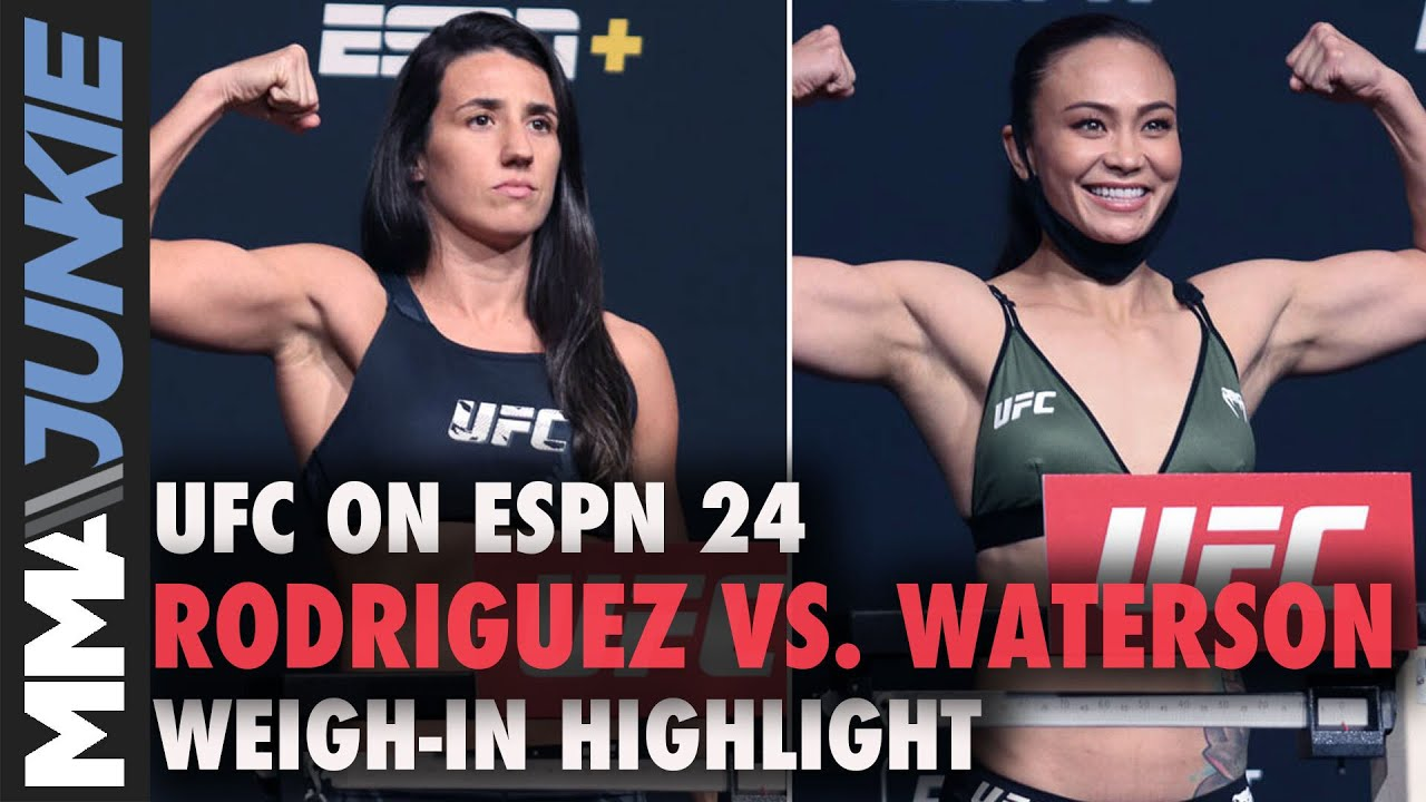 Marina Rodriguez vs. Michelle Waterson full fight video highlights