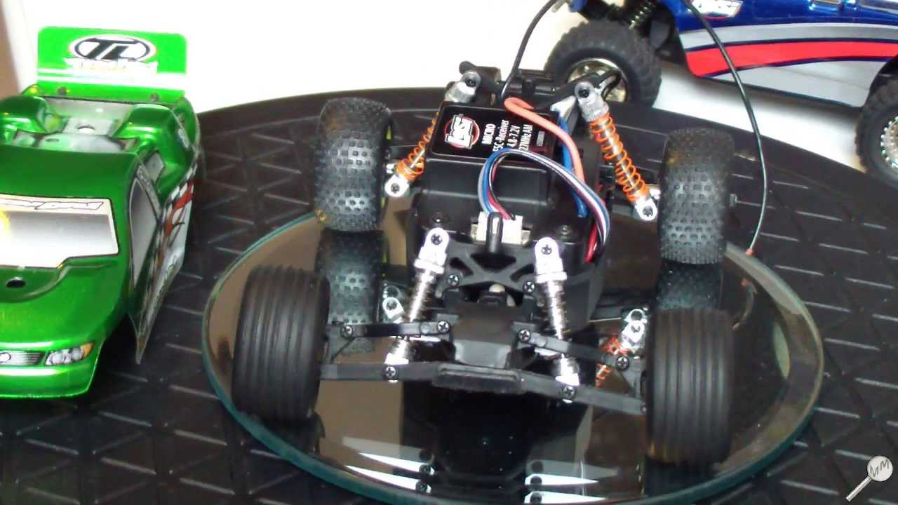 Rc Inside Ze Losi Micro T Truck 1 36 Mise Nu Tiny Cars Transmitter And Charger Circuit 2 X Aa Cell 27mhz Intrieur Chassis