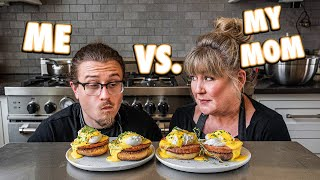 Cooking Challenge Against My Mom Who Taught Me How to Cook