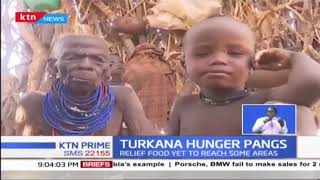 Turkana family now surviving on roasted skins