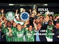Palmeiras 2 X 0 Cruzeiro - Copa Do Brasil 1998 2ª Final  - Gols E Comemoração