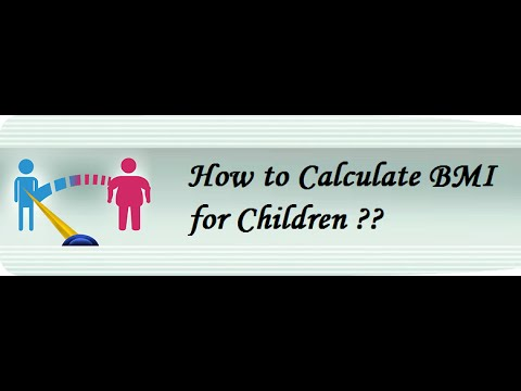 How To Calculate BMI For Children