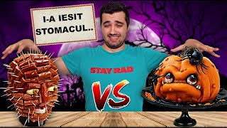 I-AM MÂNCAT INIMA..horror !! (HALLOWEEN FOOD vs. REAL FOOD)