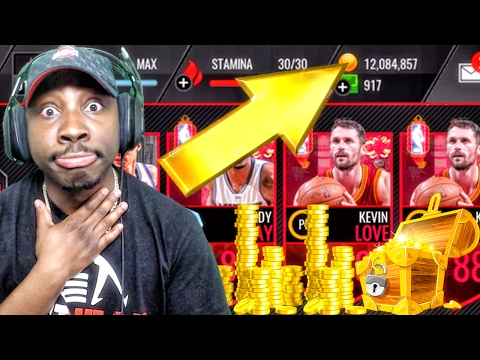 HOW TO GET MILLIONS OF COINS & THROWBACK PACK OPENING! NBA Live Mobile 16 Gameplay Ep. 74