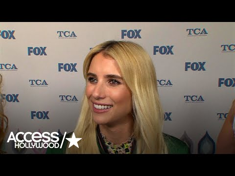 Emma Roberts On 'Scream Queens' S2: 'There's Been Some Kissing Happening' | Access Hollywood