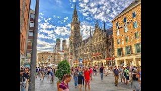München | Germania. (August 2017. 4K)