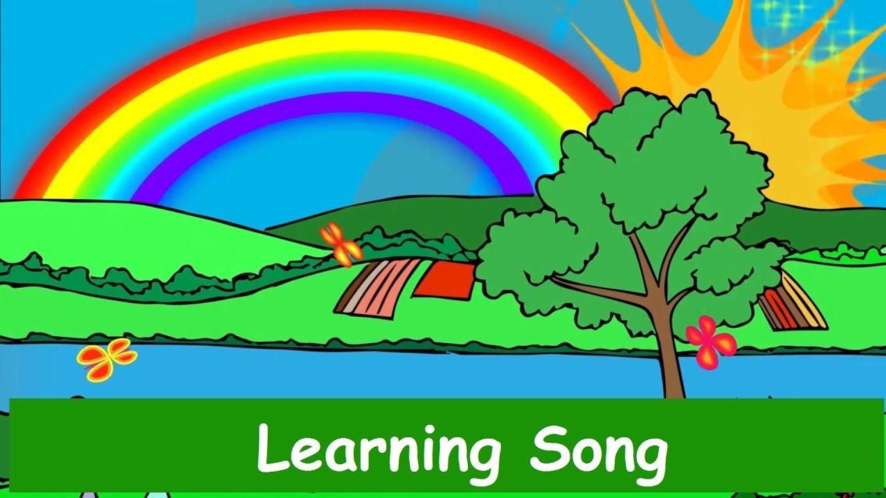 Rainbow Colors Song - Nursery Rhyme - Yleekids English - YouTube
