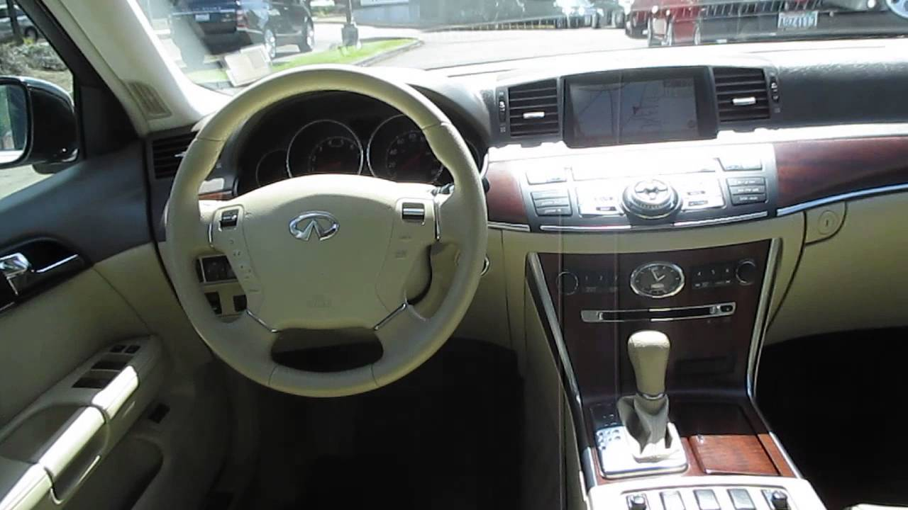 2009 infiniti m35 moonlight white pearl stock 14498a for Inside 2007 online