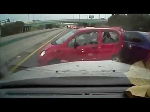 Автомобильные аварии в Корее