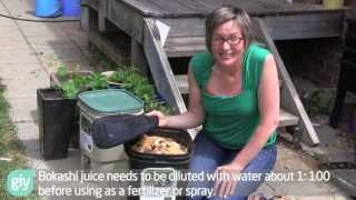 Bokashi Basics - How to set up a bokashi bucket for small scale kitchen waste