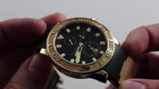 Ulysse Nardin Marine Diver Luxury Watch Review